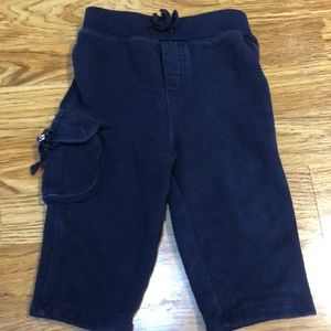 Ralph Lauren Baby Boy Navy Blue Sweat Pants 9 MOS